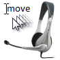 Use voice recognition commands to move the cursor and navigate documents.