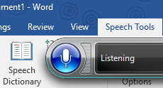 Speech Tools Add In for Microsoft Word takes dictation to the next level.